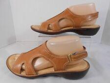 c0957c106212 Dr Scholls Advanced Comfort Womens Size 9 Strappy Slingback Walking Sandals  Tan