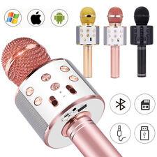 Bluetooth Handmikrofon Tragbares Karaoke Mikrofon für Kinder und Erwachsene
