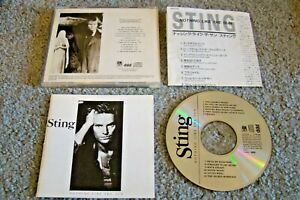 Sting - Nothing Like the Sun CD Japan