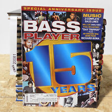 BASS PLAYER MAGAZINE Special Anniversary Issue 15 Years Prince Flea January 2004