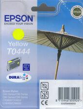 Cartouche d'encre JAUNE EPSON T0444 Authentique Neuf C64, C66, C84, C86, CX3600, CX3650.Etc.