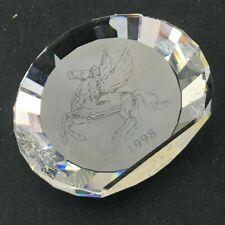 Swarovski 1998 Pegasus 60Mm Plaque *Mint* No Box *