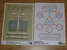 Frightened Rabbit - Scottish tour concert gig posters x 2