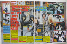 Blackie WASP clippings cuttings Sweden 1980s Bon Jovi Deep Diver Jim Diamond