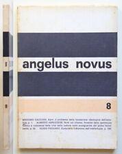 Angelus Novus n. 8-1966 Massimo Cacciari Trimestrale di estetica e critica
