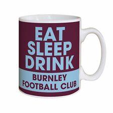 Personalised Burnley Football Club FC Eat Sleep Drink Mug Gift