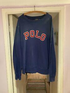 Polo Ralph Lauren Crewneck Crew Neck Xxl Vgc