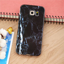 Ultra Thin Marble Stone Pattern Painted Soft Cover Case for Samsung S6 S7 Edge