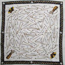 -Superbe Foulard  HOGAN TBEG  vintage scarf