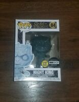 Funko POP! Game of Thrones Night King With Dagger Glow In The Dark HBO Exclusive