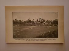 United States Navy VS Keio Japan University Baseball Game 1911 ANG Sheet
