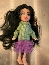 Mini Bratz Doll Fully Clothed w/ Removable Feet Girl Toy 4""