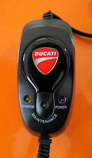 DUCATI 899/1199 PANIGALE/DIAVEL  BATTERY  CHARGER 2012 ONWARDS /CLEAN CLOTH/UK