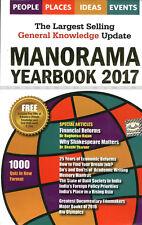 Manorama Year Book 2017 Original Book with FREE BRITANNICA CD