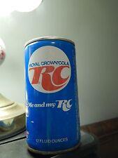 "Royal Crown (RC COLA) '78 MLBPA_Butch Wynegar_Steel Pull-Tab Can ""Me and My RC"""