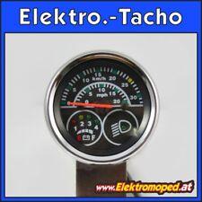 Onderdelen elektrische Scooters Elektronische snelheidsmeter 36V km/h & mph 5Pol