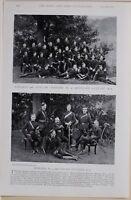 1896 Boer Guerre Era Adjudant Officiers Sans 4 Mountain Batterie Sergent Majeur