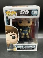 Funko Pop! #139 CAPTAIN CASSIAN ANDOR - Star Wars Rogue One