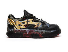 C40 NEW MARTIN MARGIELA Blk Red Gld Fusion Low Top Sneakers Shoes Size 10 $1655