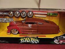 "Jada 1951 Mercury w/graphics ""Road Rats "" 1:24 Scale NO LONGER MADE ! new in box"