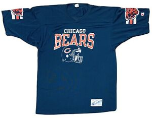 Vintage 80's Chicago Bears Walter Payton Champion NFL Team Jersey Size XL