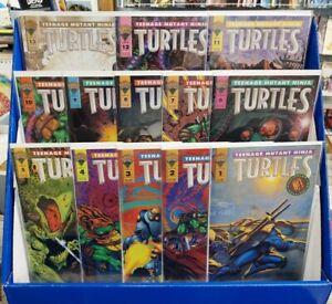 TEENAGE MUTANT NINJA TURTLES (1993/ MIRAGE) #1-13 COMPLETE (w/ ERROR VARIANT)