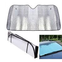 Car Windscreen Sun Shade Sunshade Heat Reflective Visor Front UV Shield 130x60CM