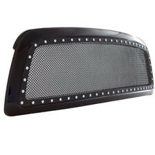 09-12 Dodge Ram 1500 Evolution All Black S Steel Wire Mesh  Grille 46-0229