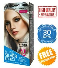 BLOND SILVER EFFECT HAIR BLEACHING GEL PROFESSIONAL BLEACH LIGHTENER COLOURANT