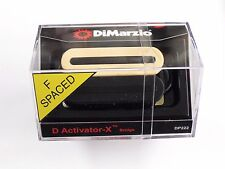 DiMarzio F-spaced D Activator X Bridge Humbucker Black/Creme DP 222