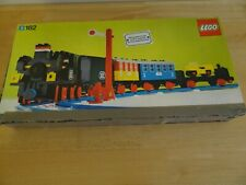Lego 182 Vintage Train Set (1975), complete with box, but motor does not work