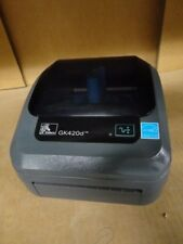 Zebra GK420D Thermal Barcode Label Printer USB & Ethernet For DHL UPS GLS TNT