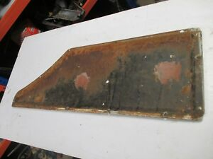 Holden style side ute inspection panel cover tray van hq hj hx hz wb