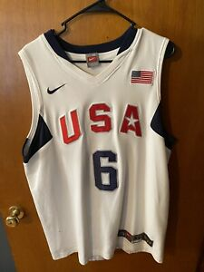 Authentic Nike Team USA Lebron James Jersey XL