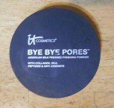 1 powder IT COSMETICS BYE BYE PORES AIRBRUSH SILK PRESSED FINISHING POWDER flaw