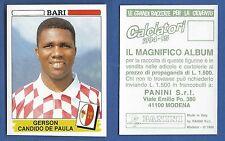 FIGURINA CALCIATORI PANINI 1994/95 - NUOVA/NEW N.14 DE PAULA - BARI