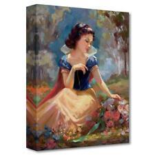 "Disney Fine Art ""Gathering Flowers"" by Lisa Keene Limited Edition Canvas; COA"