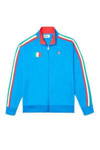 Men's Fila Prince Blue/Red Italy Track Jacket