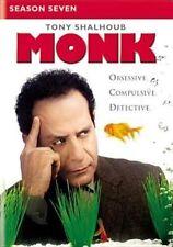 Monk Season 7 Series Seven Seventh 7th Region 4 DVD