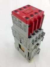 Allen-Bradley100S-C16DJ14CSAFETY CONTACTOR  3 Pole 24DC coil 7.5Kw w/Aux