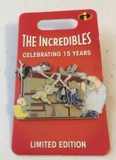 Disney Parks Pin Le 3000 Pixar The Incredibles 15th Anniversary Dinner Table Pin