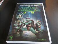 Dvd 2 films LES TORTUES NINJA 2 (secret de la mutation) & 3 (nouvelle generation