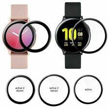 For Samsung Galaxy Watch Active 2 3D Full Cover Soft Glass Screen Protector Film