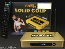 used Genuine - VietTV24 Solid Gold - Hop TV Thong Minh - Quad-core 8GB - Hop Goc