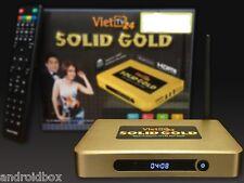 New Original VietTV24 Solid Gold - Hop TV Thong Minh - Fast Quad-core 8GB