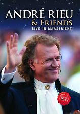 Andre Rieu & Friends Live in Maastricht  **Brand New DVD**