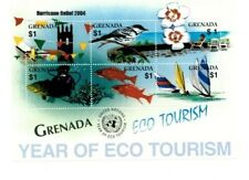 Grenada - 2004 - Hurricane Relief OVPT Eco Tourism - Sheet Of 6 - MNH