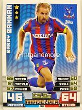 Match Attax 2014/15 Premier League - #084 Barry Bannan - Crystal Palace