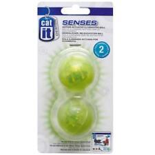 2 x Leuchtball beleuchteter Ball Katzenball für Catit Senses Spielschiene 50776
