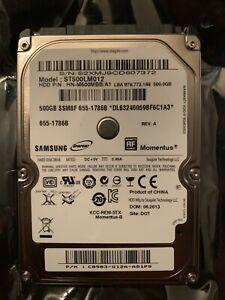 """Samsung 500GB SATA 2.5"""" 5400RPM HDD Hard Drive ST500LM012"""